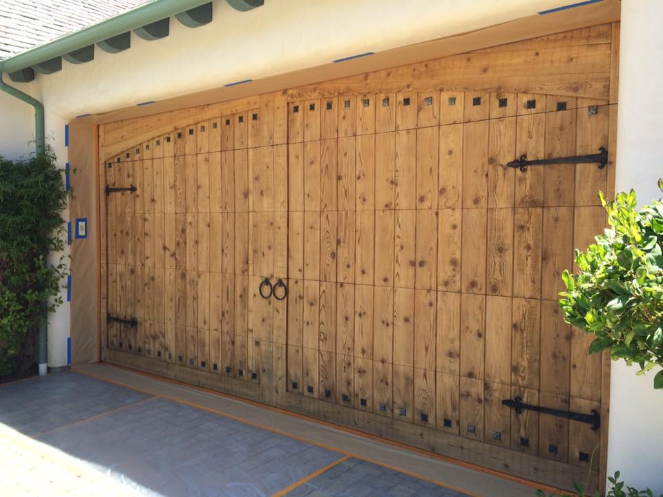 Wood Entry Doors San Diego Wood Refinishing Front Doors Garage