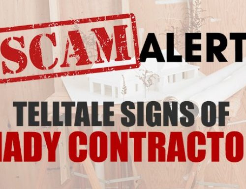 Contractor Scams