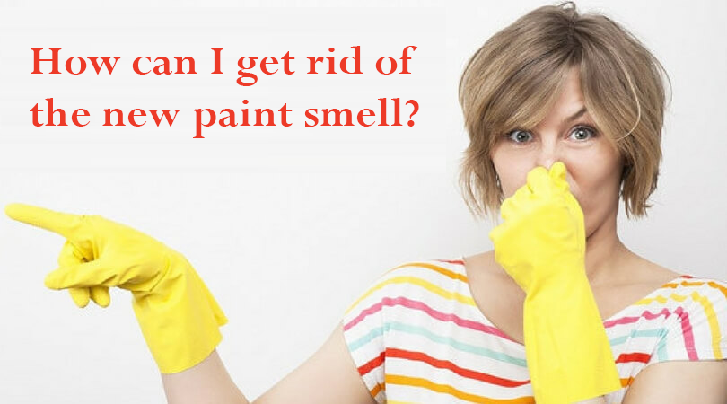 strong paint smell