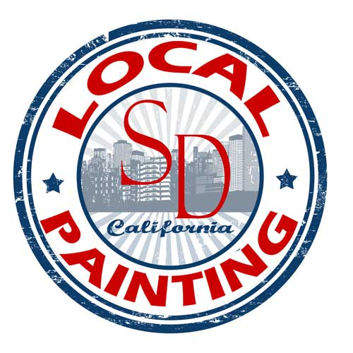 Local San Diego Painting Logo