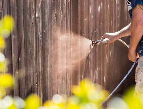 Summertime – a Great Time to Clean That Fence!